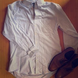 Men's striped dress shirt